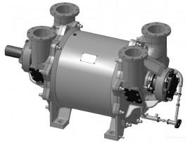Насос ВВН2-50М вакуумный водокольцевой