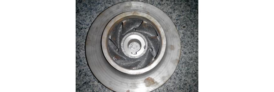 Рабочие колеса консольного насоса типа К, Катайский насосный завод.
