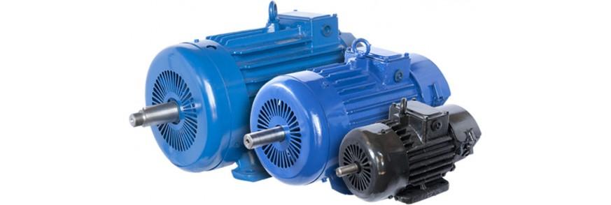 Общепромышленные электродвигатели серий АИР, А, 4А, 5А, АД, 7AVER